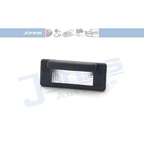 Lampe Johns Plaque d'immatriculation, 50 63 87–95