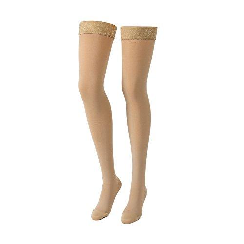 Twist Compressana Micro con medias AG de algodón de la pierna calcetines...