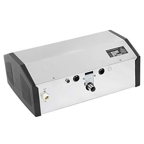 FEBT Saunadampfsystem, Dampfduschengenerator, Dampferzeuger, Einstellbarer professioneller Edelstahl für Saunahaus Langlebig mit Temperaturregler
