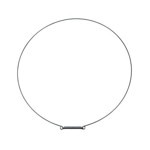 easyPART 1000027686-001 Spannring Metall für LG 2W20017C Waschmaschine silber Ring für Türmanschette Dichtring Waschmautomat Waschgerät passend wd80 f10 f12 wd14 f14 wd10 wd16 wd11 wd90 f16 f51 dd12