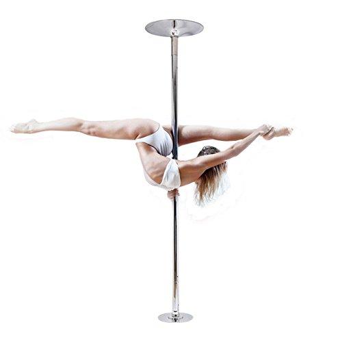 Waller PAA 45mm pole dance de acero inoxidable portátil Spinning estática baile fitness