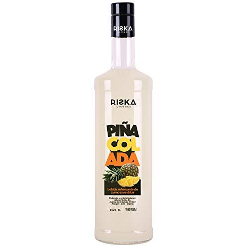 RISKA - Piña Colada Licor sin alcohol 1 Litro