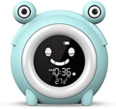 Kids Clock, Alarm Clock, Sleep Trainer, Ok to Wake Clock, Clock for Kids, Digital Clock, Wake Up Light, Ready to Rise, Sleep Sounds, Clock, Night Light