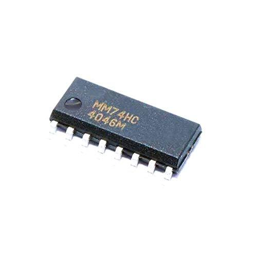 10pcs/lot Mm74hc4046 Ic Lock Loop Phase o 16- Mm74hc4046m