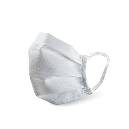 PONGS® Stoff Mund Nasen Maske, waschbar, 100% Baumwolle (Mit Antibac, 1 Stück)