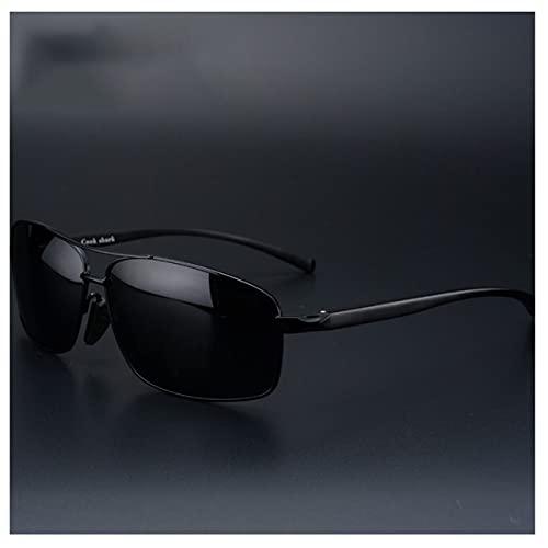 TYTG Gafas de Sol Gafas de Sol de Cambiador de Color, Gafas de Sol de Sol para Hombres, Vasos de visión Nocturna, Espejo de Conductor de polarización de Marea Artículos de Uso Diario