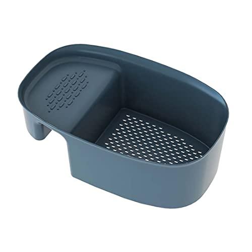 Jiangchenxi Escurridor de fregadero, recipiente para filtro de fregadero, cesta para la jabonera, cesta para la cocina, cesta para la cesta de drenaje, cesta para verduras y frutas, colador de té