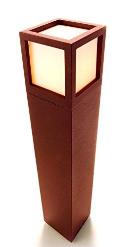 Baliza luminosa para al aire libre Facado marrón