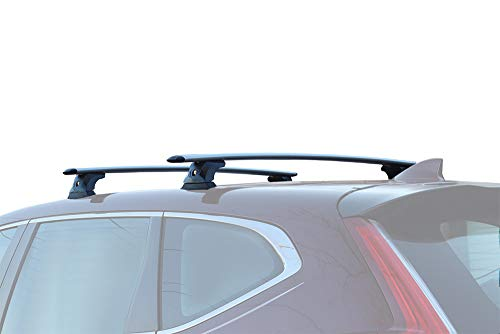 BrightLines Roof Rack Cross Bars Compatible with 2017 2018 2019 2020 2021 Honda CRV Without Roof Rails