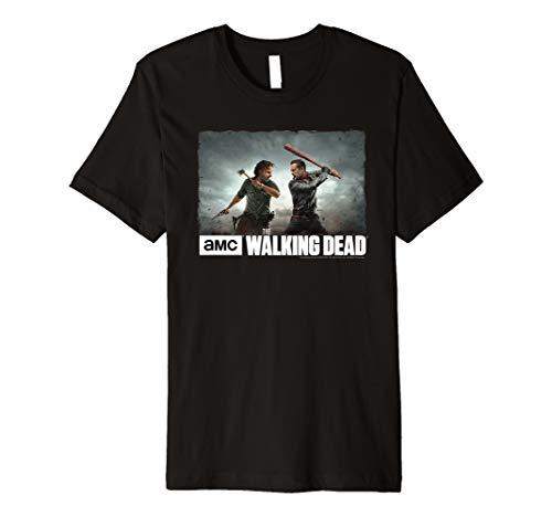The Walking Dead Season 8 - Rick & Negan Face Off T-Shirt