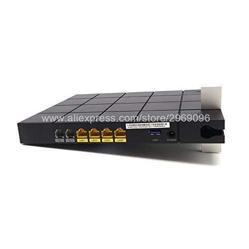 Lysee Equipos de fibra óptica - HN8245Q EPON 10GE ONU ONT HGU Dual Band WiFi AC Router 4GE+2Tel+2USB+Wifi2.4GHz&5G Misma función que...