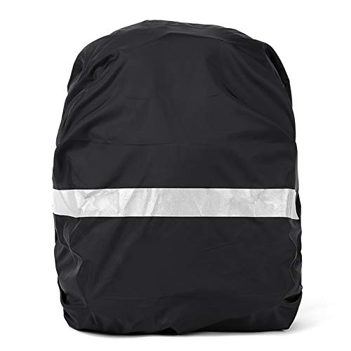 Walmeck Reflective Bag Cover Waterproof Backpack Rain Cover Ultralight Travel Pack Cover with Reflective Strip for Hiking Cycling Traveling