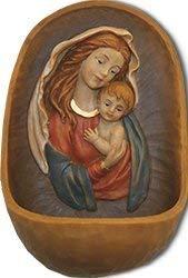 Weihwasserkessel Mutter Gottes mit Jesukind - Weihwasserbecken