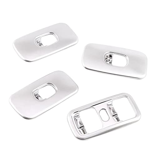 HMEILI Botón de Interruptor de elevación de Ventanas Marco de Ajuste de Ajuste para Mercedes Benz G Wagon Class W463 (Color Name : Silver)