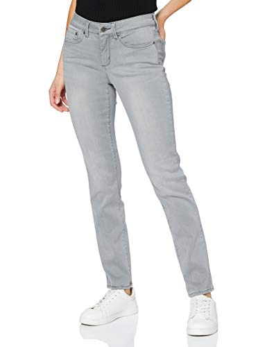 NYDJ Sheri Jeans Slim, Grigio (Carbon Beach), 30 (Taglia Produttore: 0) Donna