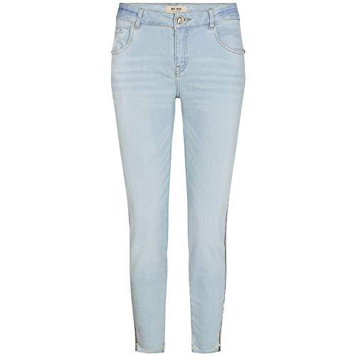 Mos Mosh Jeans Sumner Frame Straight Leg 27 Hellblau