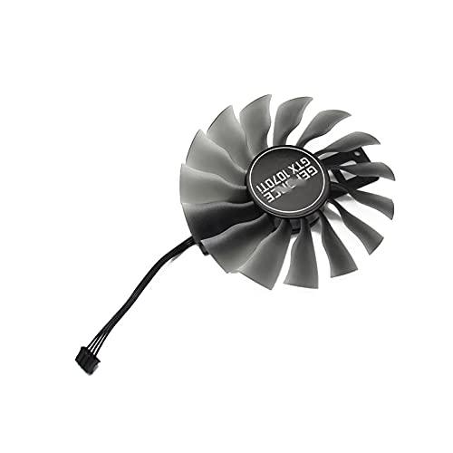 GAA8S2U para PALIT GTX 1070TI 1070 TI GPU VGA VEGANTE Alternative Fan para GeForce GTX1070 TI Jetstream Fan (Blade Color : 1PCS B)
