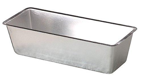 Pentole Agnelli COAL3826 Stampo Plumcake, in Alluminio, 26 cm, Argento