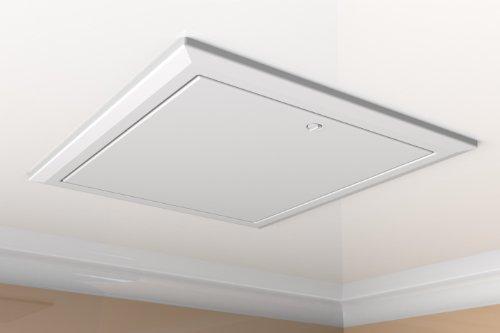 Timloc 1169/35, Dachbodenklappe, Weiß, hoher Dämmwert 0,35 U, Bauvorschrift Teil L