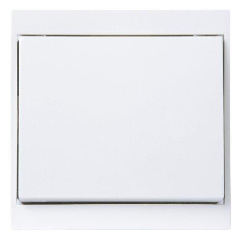 Kopp 620613086 Malta Universalschalter (Aus-und Wechsel), arktis-weiß, 1 Stück