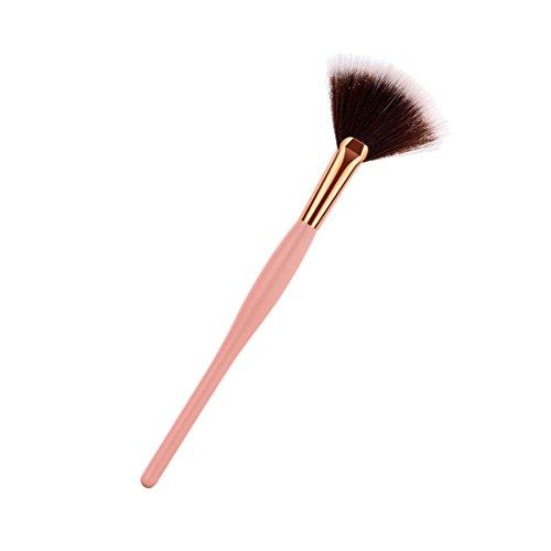 Frcolor Brosse de maquillage de base de maquillage de brosse de maquillage (gris et blanc)