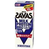 明治 (ザバス)ミルクプロテイン 脂肪ゼロ ミルク風味 200ml紙パック×24本入