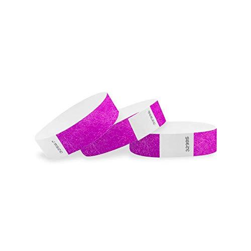 Wristco Pantone viola 3/10,2cm Clubking Ltd 500 Count Pantone Purple