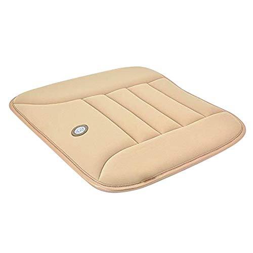 HEIRAO Soft Car Sitzkissen Pad, rutschfeste Auto-Kissen für Home Office Reise Universal Auto, Memory Foam, Vier Jahreszeiten