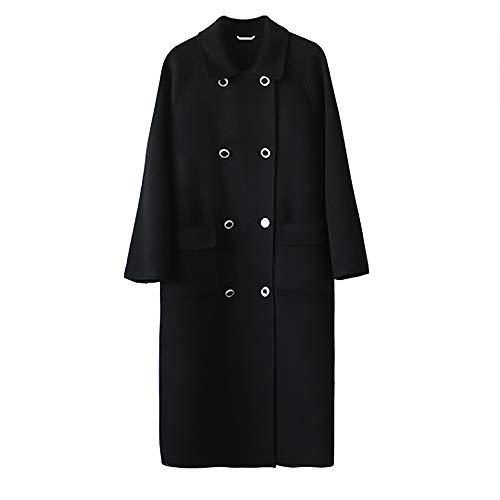 KgByy Womens Jassen Womens Trench Winter Casual Warm Jas Mode Elegante Comfortabele Wol Blend XS ~ M