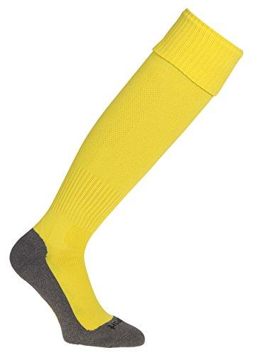 Calcetines altos amarillos deportivos