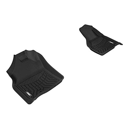 Aries Automotive DG01811809 Liners Custom Fit Floor Mat, Bl