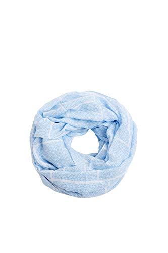 ESPRIT Accessoires Damen 040EA1Q302 Mode-Schal, 440/LIGHT BLUE, 1SIZE