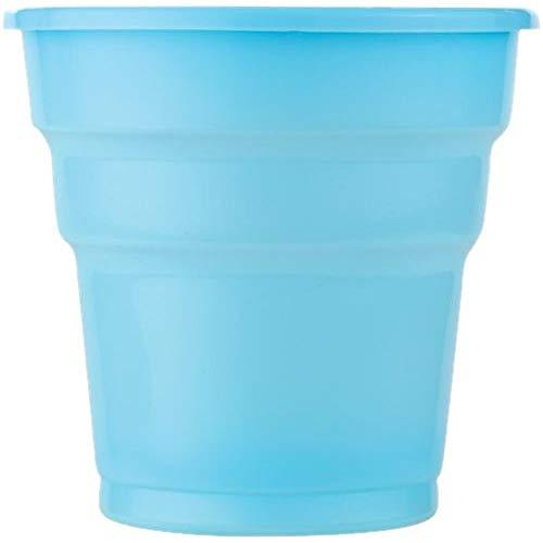 Lot de 25 gobelets en plastique Bleu
