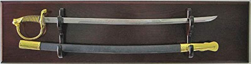 Sword Display Plaque Rack Holder Wall Rack Alternative To Display Case