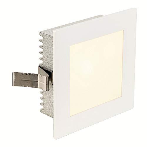 SLV FLAT FRAME BASIC Leuchte Indoor-Lampe Aluminium/Glas Weiß Lampe innen, Innen-Lampe