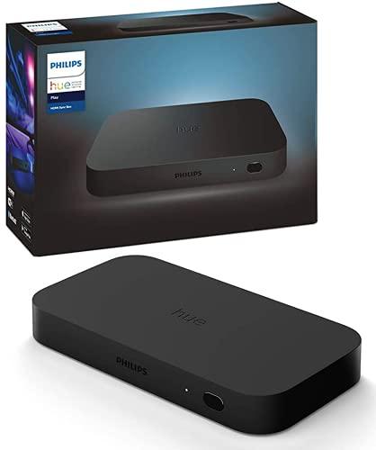 Philips Hue(フィリップスヒュー) スマートLED ゲーミングライト 映像・音楽出力同期用デバイス アレクサ対応 スマート 照明 ライト Alexa Echo Google Home Siri PS4 PS5対応【日本正規品】 Hue Sync Box