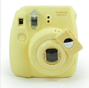 Gvirtue GCameraLensYellow Close-up Selfie Lens with Self-Portrait Mirror for Fujifilm Instax Mini 8 Mini 7S Camera and Polaroid 300 Camera Style, Yellow