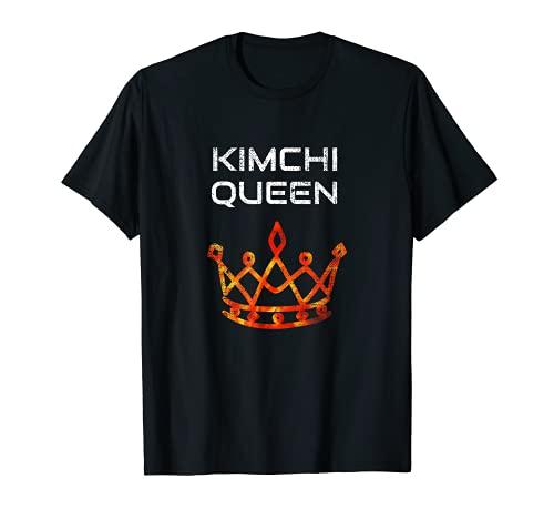 Kimchi Queen pour les amateurs de cuisine et de cuisine coréenne T-Shirt