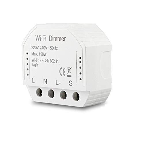Interruttore intelligente dimmer DIY Smart Life modulo/il telecomando dell'app, lavorando con Alexa echo home (1C DIMMER)