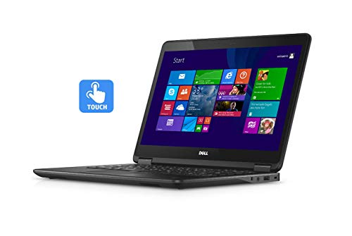 DELL LATITUDE E7240 12.5' TOUCHSCREEN LAPTOP INTEL CORE i7-4600U 4th GEN 2.1GHZ WEBCAM 8GB RAM 512GB SSD WINDOWS 10 PRO 64BIT