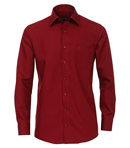 CASAMODA CASAMODA Herren Popeline Hemd Uninah 006050 Comfort Fit 100% Baumwolle