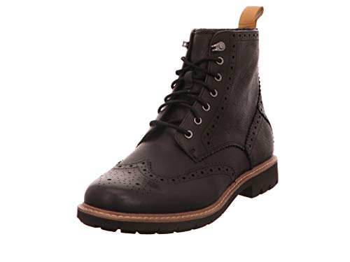 Clarks Herren Batcombe Lord Chelsea Boots, Schwarz (Black), 44 EU