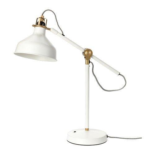 IKEA RANARP - lámpara de trabajo, de color blanquecino