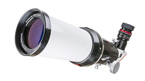 Lunt Solar Systems 60mm H-Alpha Telescope with 6mm Blocking Filter - Professional Personal Telescope, Digital Camera Compatible, Portable Travel Telescope