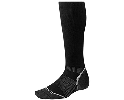 Smartwool PhD Run Graduated Compression Ultra Light Socks (Black) Small