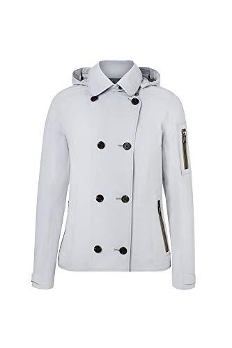 Bogner Sport Ladies Mine-T Grau, Damen Softshelljacke, Größe 38 - Farbe Light Grey