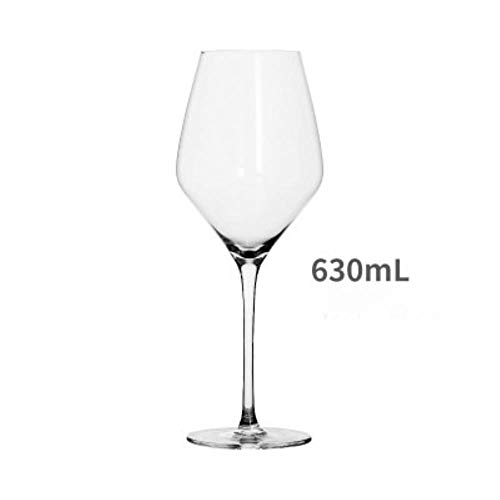 Handgemaakte Ultradunne Bordeaux Rode Wijnglas Loodvrij Kristal Glas Goblet Grote Capaciteit Bordeaux Wijnglas Drinken Gebruiksvoorwerpen A1 630ml