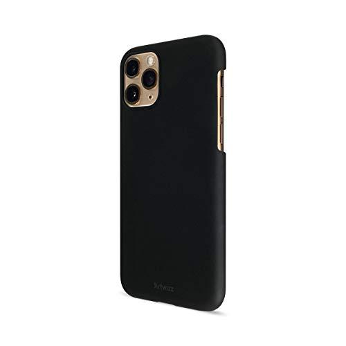 Artwizz Rubber Clip Handyhülle designed für [iPhone 11 PRO] - Schlanke Schutzhülle mit Soft-Touch-Beschichtung & Grip - Black