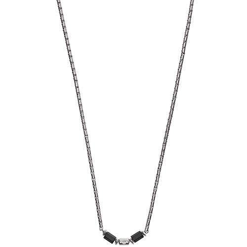 Emporio Armani EGS2680040 Herren Collier Edelstahl Silber 52 cm
