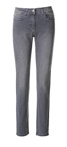 Pamela Superstretch Jeans Shaping-Jeans Stretchhosen Damen Kollektion 2019 (grau-Used, 40)